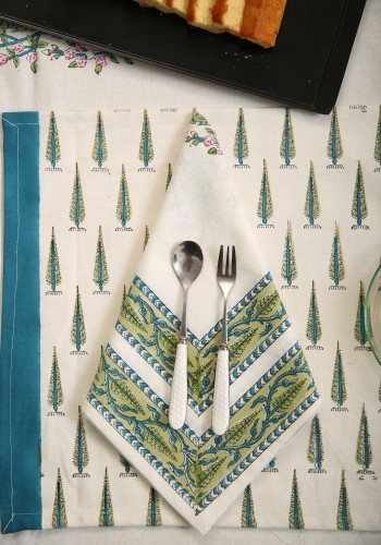 Bluebell Placemat & Napkin set