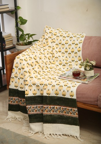 Olive Grace Throw